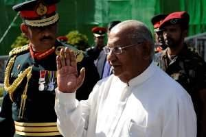 Rarnasri Wickramanayake, the Sri Lankan prime minister, has been sent to the UN General Assembly. Ishara S Kodikara AFP