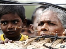 Tens of thousands of Sri Lankans are still displaced