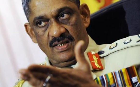 General Sarath Fonseka stood for election to the Sri Lankan presidency  Photo: AFP