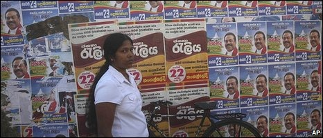 Election posters have been part and parcel of recent Sri Lankan campaigns