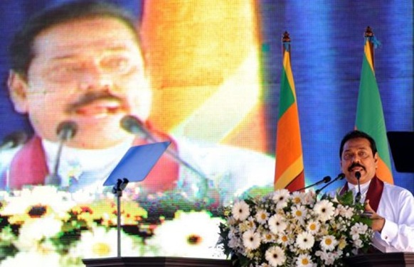 "Rajapakse said appointing a panel was ""totally uncalled for and unwarranted"" - afp"