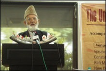 Ayed Ali Shah Geelani, All Parties Hurriyet Conference (APHC), Kashmir
