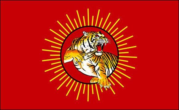 Naam Tamilar Tiger flag