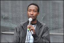 Sudanese activist and Green party politician Zefari Zidun