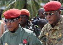 Government of Guinea's former military leader, Moussa Dadis Camara