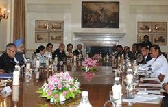 Indo - Lanka bilateral talks held at the Hyderabath House