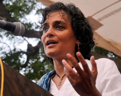 Arundhati Roy, writer and activist. Booker Prize winner for her novel, The God of Small Things