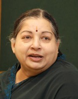 THE HINDU A file photo of J. Jaylalithaa. Photo: V. Ganesan