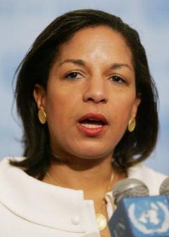 Dr. Susan Rice, US Ambassador to UN