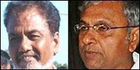 K.V. Balakumaran [Left] and Yogaratnam Yogi [Right]