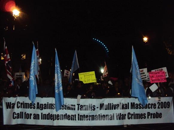 Vigil outside 10 Downing Street