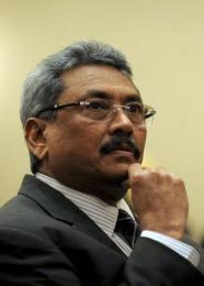 Sri Lankan Defence Ministry Secretary Gotabhaya Rajapakse