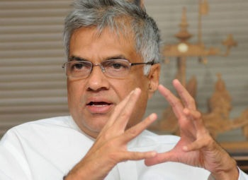 The former Sri Lankan Prime Minister, Ranil Wickremesinghe, at an interaction in The Hindu office in Chennai on Friday.