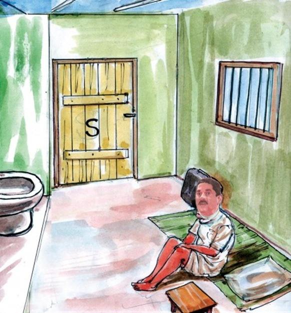 Sarath-Fonseka-In-Jail-graphic