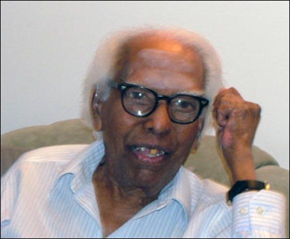 Mr. V. Navaratnam photographed in 2005 [TamilNet Library Photo]