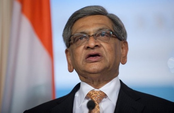 Indian Foreign Minister S. M. Krishna