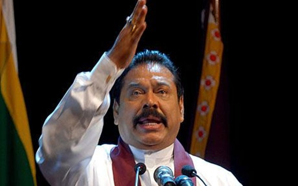 Sri Lankan President Mahinda Rajapaksa has become the latest foreign leader to drop out of a planned visit to Britain Photo: EPA