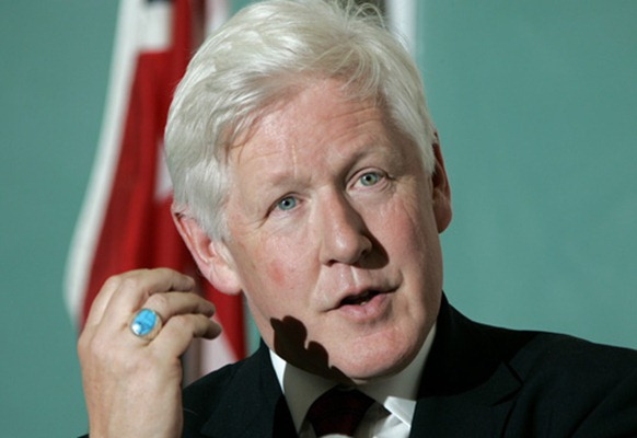 Former Ontario Premier Bob Rae