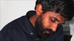 Mr Jayantha fled Sri Lanka after he was abducted and assaulted