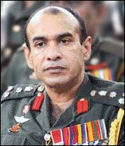 Sri Lanka Army commander Maj. Gen. Chagi Gallage