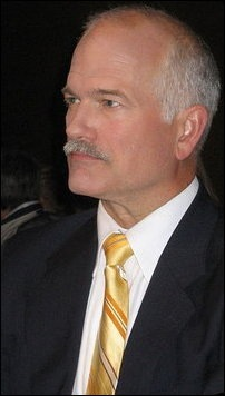 Jack Layton, the leader of the New Democratic Party of Canada
