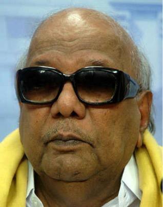M. Karunanidhi. File Photo