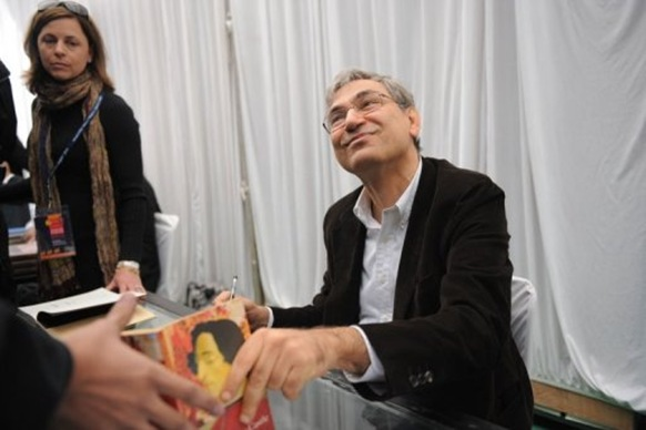 Pamuk is attending the Jaipur Literary Festival in northern India