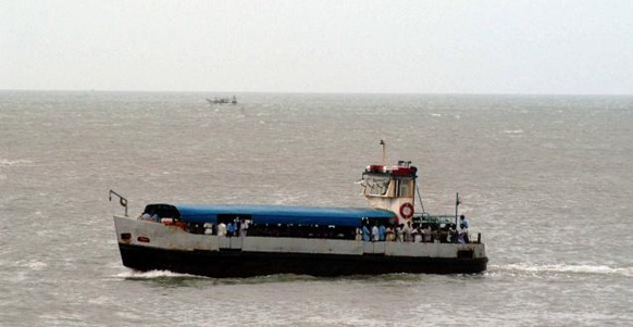 BL A file picture of a ferry service to the Swami Vivekananda Rock Memorial at Kanyakumari. Photo Bijoy Ghosh