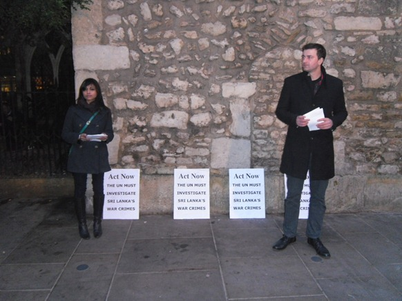 Act Now Campaigners handing out leaflets in the Oxford centre.
