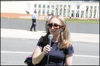 Amanda Bresnan MLA of the ACT Greens