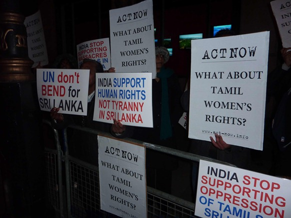 Tamil Women rights