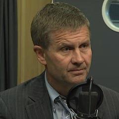Erik Solheim speaking to NRK on Wednesday