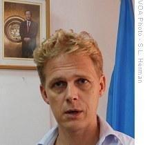 Gordon Weiss, former UN spokesperson