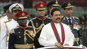 President Rajapaksa says his forces followed international human rights law