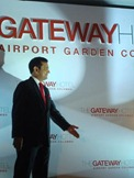 The Hindu Gateway Hotels COO P.K.Mohan Kumar, announcing the unveiling of the first international gateway hotel at the Taj Aiport Garden Hotel in Colombo on Wednesday. Photo: R.K.Radhakrishnan