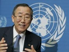 Ba Ki Moon, UN Secretary General