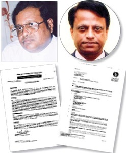 Susil Premajayantha, Titus Jayawardena, Cabinet Memorandum authorising purchase AND ENOC offer dated 2 days before cabinet approval