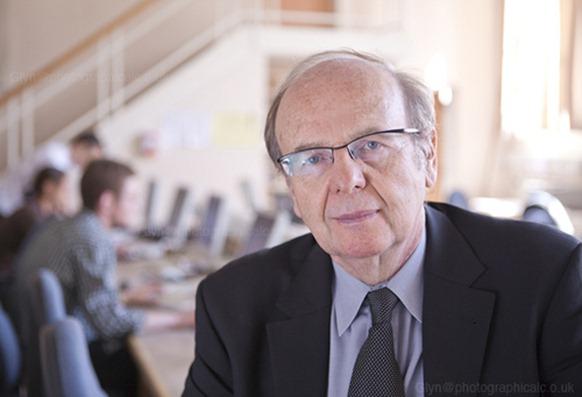 Prof. Richard Tait, professor of Journalism, Cardiff