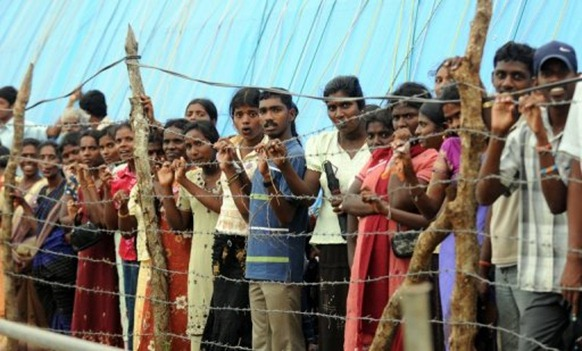 Government forces crushed Tamil rebels and declared an end to decades of ethnic war in May 2009 (AFP Pool File, Lakruwan Wanniarachchi)