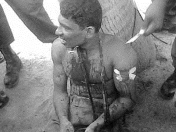 BW picture of victim referred in story (TamilNet has information that the youth is Chandraseanan Vinothan from Mallaavi. Born in 9-5-1988)