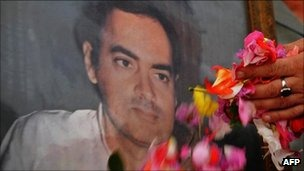 Rajiv Gandhi was killed as he addressed an election rally in southern India in 1991