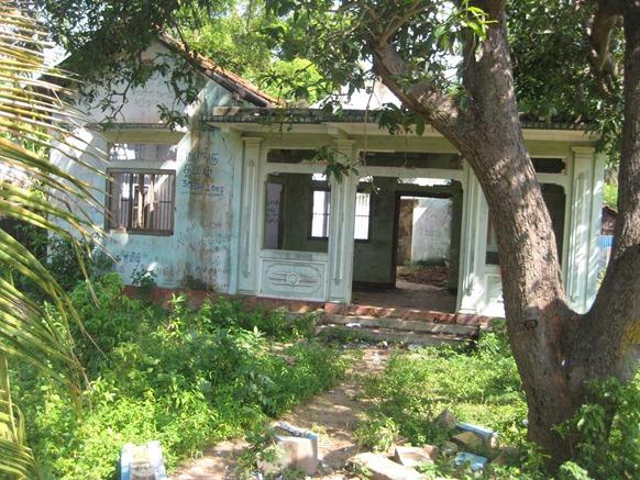 File photo of LTTE Leader V. Pirapaharan's House in VVT