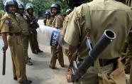 A Sri Lankan riot police squad (AFP File, Lakruwan Wanniarachchi)