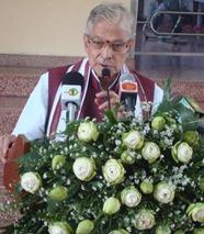 The Hindu Senior BJP leader and MP Murli Manohar Joshi delivering the Anagarika Dharmapala commemorative lecture at a function organised to celebrate 147th birth anniversary of Anagarika Dharmapala, in Colombo on Saturday. Photo: R.K. Radhakrishnan