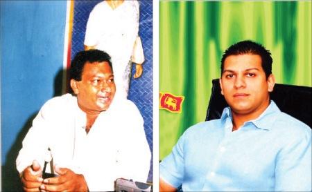 Bharatha Lakshman Premachandra and Duminda Silva