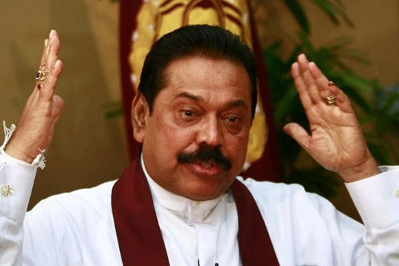Photo:  The Attorney-General's consent was needed for the case against Mahinda Rajapaksa to proceed. (Andrew Caballero-Reynolds, file photo: Reuters)