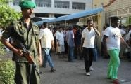 Police said at least two officers were among those critically hurt in the shoot-out (AFP, Lakruwan Wanniarachchi)