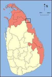 Shown within the box is the target area of Colombo discussed in the feature
