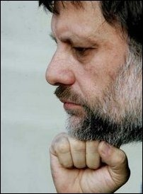 Slavoj Žižek [photo courtesy: psychoanalysis.cz]