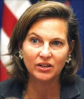Victoria Nuland, urged Sri Lanka to address issues not covered by the report(Picture Courtesy of www.newsfirst.lk)